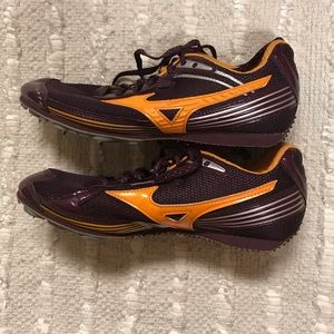 Women's Mizuno Track Spike Shoes Size 7